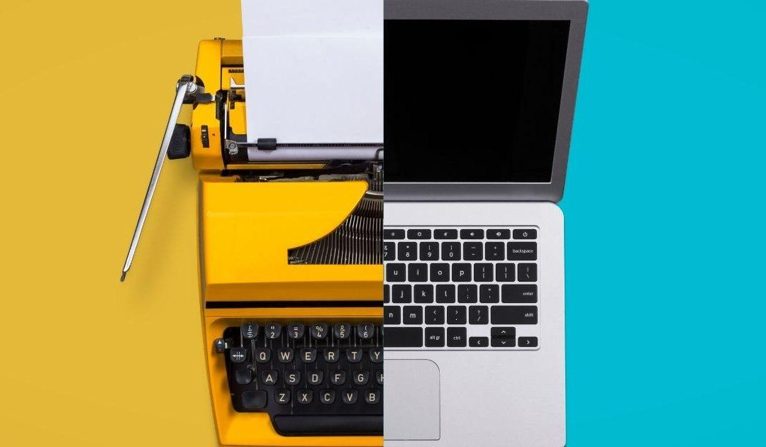 L'alba dei copywriters viventi: la scrittura nell'online